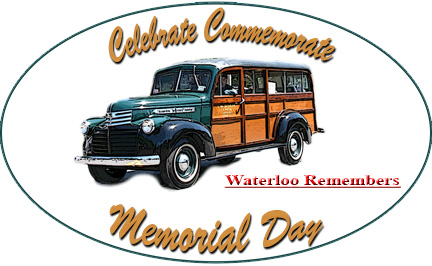 "Waterloo, NY - May 28, 2017 - 18th Annual Memorial Day ""Wheels On Main Street "" @ Main Street Waterloo, NY"