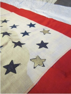 In a special exhibit, Waterloo's own Blue Star flag will be on display at the National Memorial Day Museum