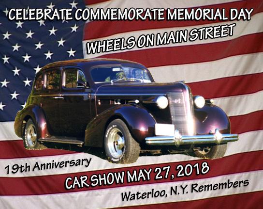Wheels On Main Street Car Show Waterloo NY - Classic car show today near me