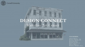 Architectural design concept for 38 Washington Street (former Moore's Furniture).